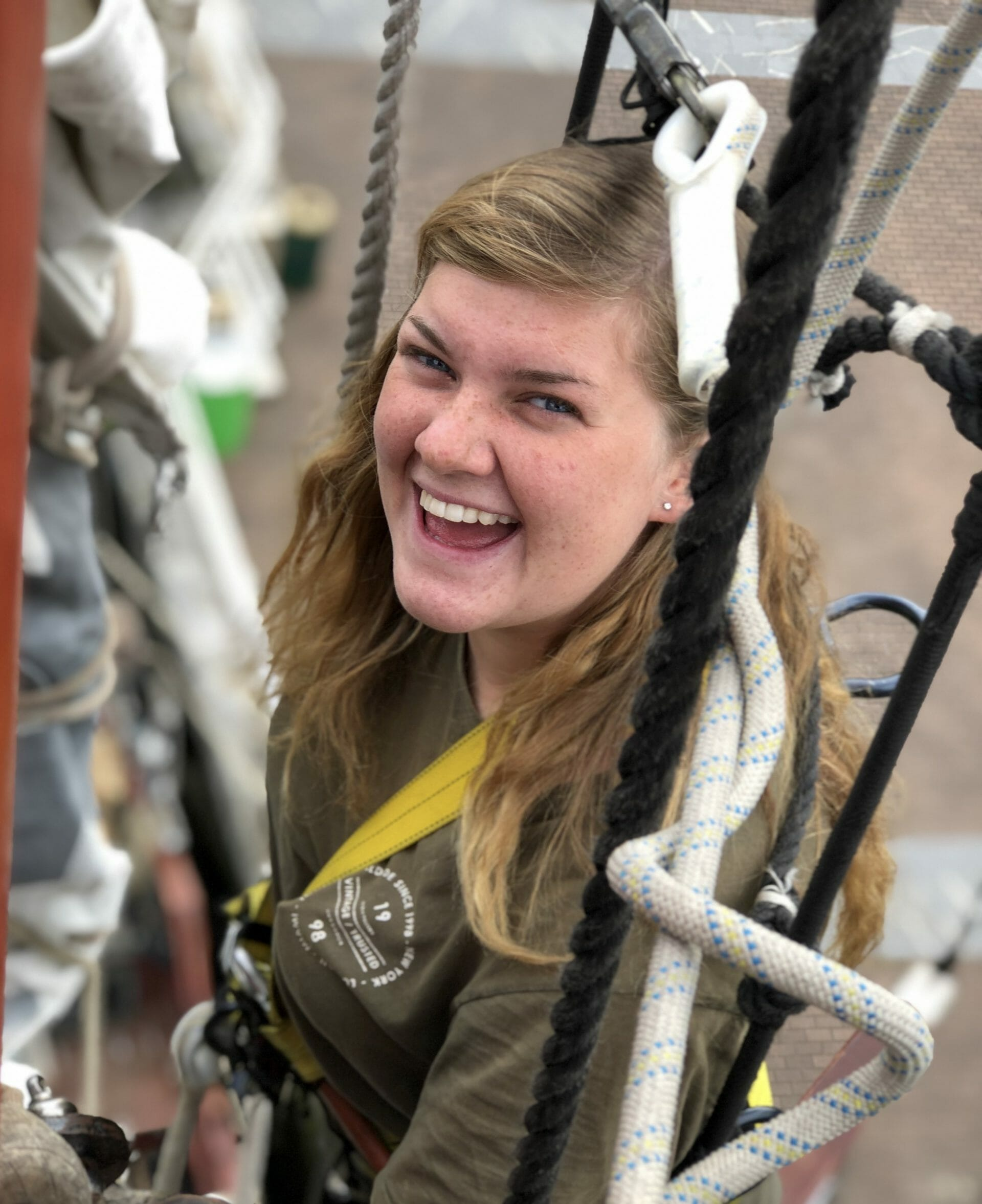 Participant Smiling Crew Join Sail Tall Ships Races 2021 2022 Baltic Atlantic Fun Young
